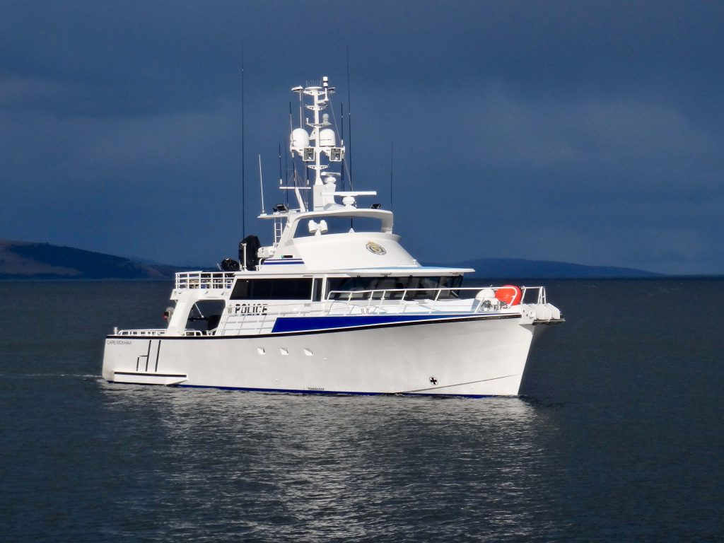 Cape Wickam - Custom Built Aluminium Patrol Vessel