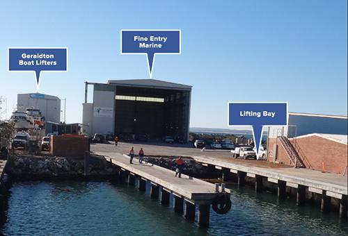 The Fine Entry Marine Facility - Geraldton Boat Building Facilities