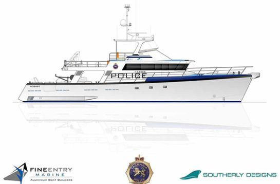 Police Vessel Drawing